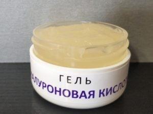 ГЕЛЬ Гиалуроновая кислота фото
