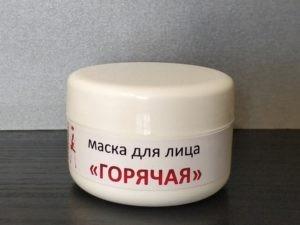 Фото. Маска для лица горячая Украина