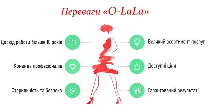 Переваги О ЛАЛА салон краси